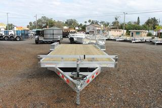 Aluminum Open Car Hauler