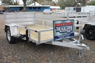 Utility Trailer with Aluminum Frame