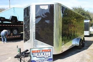 Motorcycle Trailer with Finished Interior