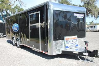 Race Trailer with Escape Door