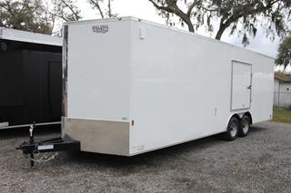 Car Hauler Trailer with Escape Door