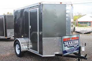 Cargo Trailer with Side Flow Vents