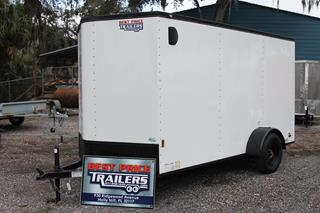 Motorcycle Trailer with Blackout Package