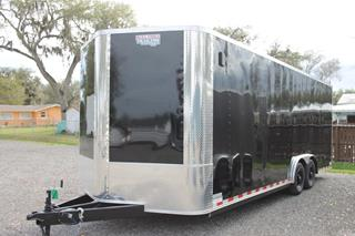 Custom Car Trailer with A/C