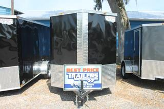 Enclosed Trailer with Roof Vent