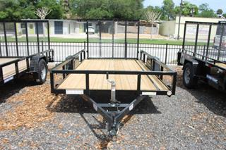 Utility Trailer with Spring Assist Ramp