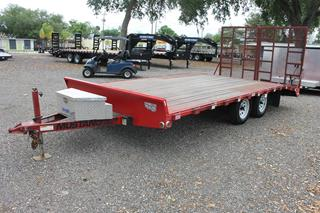 Pre Owned Open Car Trailer