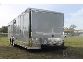 trailer for sale Automaster Trailer Enclosed Car Hauler Wide Tandem Diamond Ice