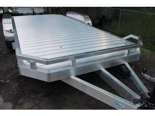 Open Aluminum Car Hauler