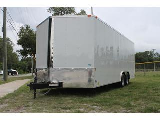 8.5x20 Enclosed Car Trailer