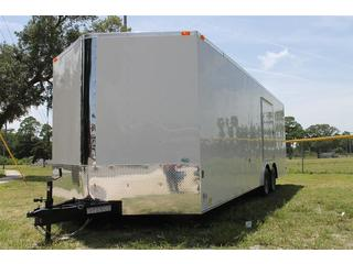 Sunshine Enclosed Car Trailer with Escape Door