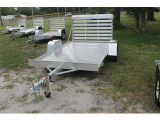 6x10 Utility Trailer with Aluminum Tailgate
