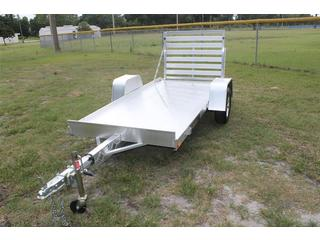 4.5x10 Utility Trailer with with Tailgate