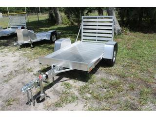 4.5x8 Utility Trailer with Tailgate
