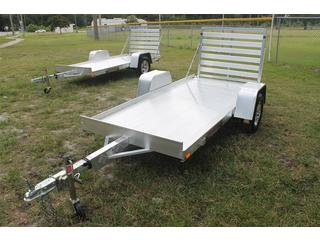 4.5x10 Aluminum Utility Trailer With Tailgate