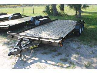 Car Trailer with Pine Floor and Spare