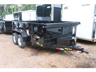 Dump Trailer with Breakaway System