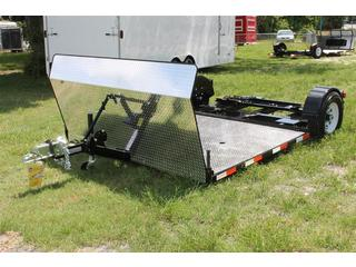 Tandem Tow Dolly with 4 ft Stone Guard