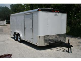 trailer for sale Continental Cargo Enclosed T/A Carhauler Trailer