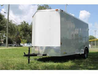 Cargo Trailer with Barn Style Rear Doors