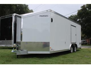Enclosed Aluminum Car Trailer