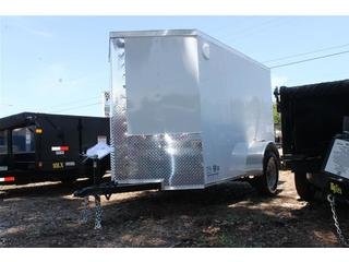 Cargo Trailer with LED Lights