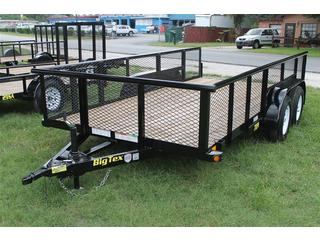 Utility Trailer with Drop in Sleeves
