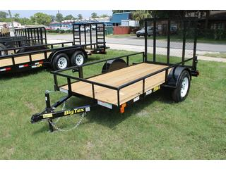 Utility Trailer with 2 inch Pine Floor