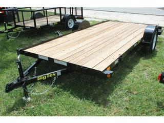 Utility Trailer with Slide in Ramps