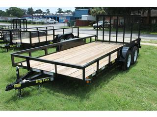 Utility Trailer with Extra Wide Deck