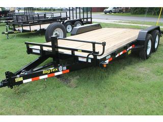 Equipment Trailer with Treated Pine Deck