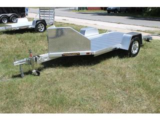 Motorcycle Trailer with Salt Shield