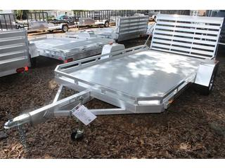 Utility Trailer with Torsion Axles