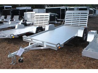 Utility Trailer with Retaining Bumper