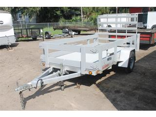 Used Utility Trailer with Aluminum Tailgate