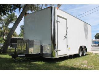 Concession Trailer with Ramp Door