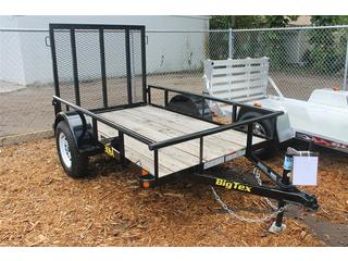 Utility Trailer with Pine Deck