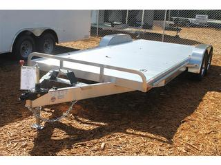 Car Trailer with Aluminum Wheels