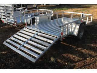 Utility Trailer with Torsion Axle