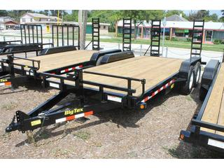 Equipment Trailer with Dovetail