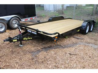 Pipe Utility Trailer with Pine Deck