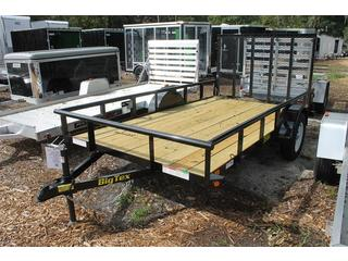 Utility Trailer with Sealed Lighting