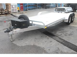 Used Car Hauler with Tool Box and Spare