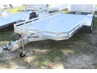 Utility Trailer with Tilt Bed