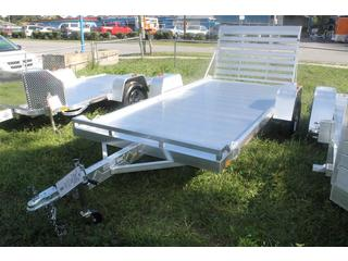 Aluminum Utility Trailer with Tie Down