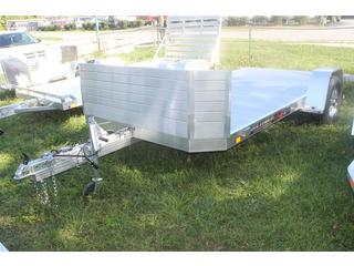 Utility Trailer with Front Rock Guard