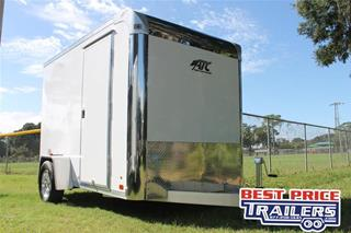Motorcycle Trailer with Cabinet
