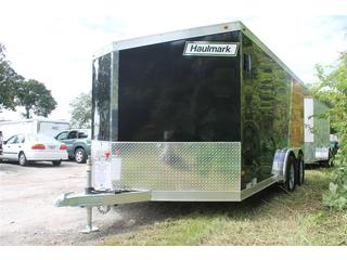 Motorcycle Trailer with T Shape Cabinets