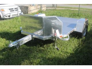 Folding Motorcycle Trailer, All Aluminum