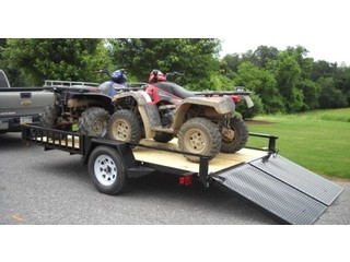 ATV Trailer with Side Ramps